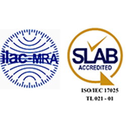 ISO/IEC 17025:2017 Certificate of Accreditation to Chemical and Biological Testing